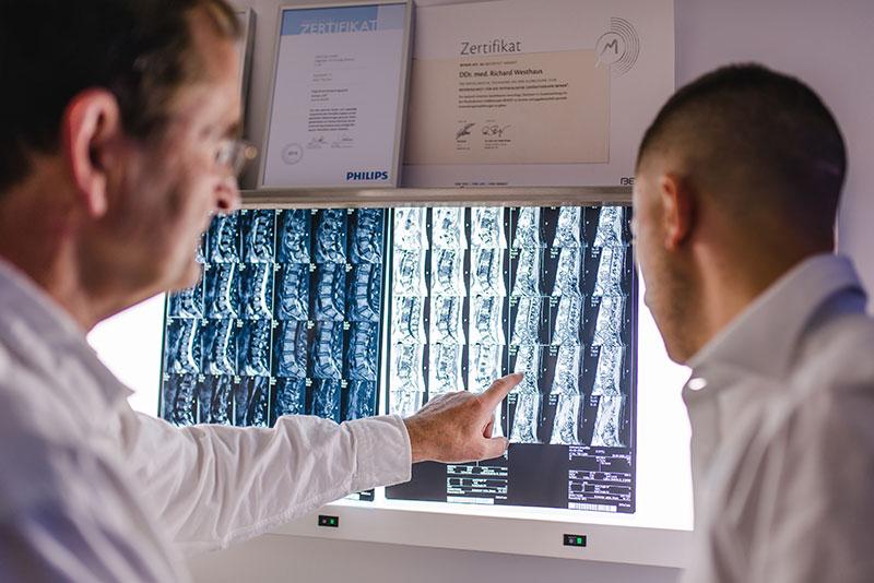 über uns röntgen